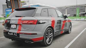 audi truck 2017 take a ride with us in a self driving audi q7 using nvidia