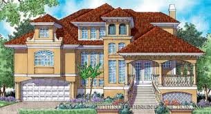 chateau style house plans island style house plans sater design collection