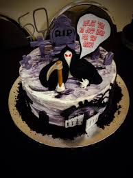 50th birthday cakes grim reaper 50th birthday cake cakecentral