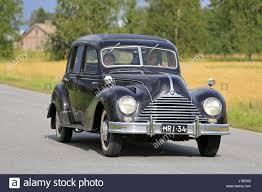 bmw vintage somero finland august 6 2016 black 1950s bmw 340 classic car