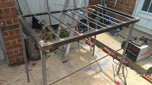 Welders Bench - large welding table on the cheap jtbmetaldesigns u0027s blog