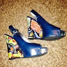 91 zinc shoes zinc wedges from s closet on poshmark