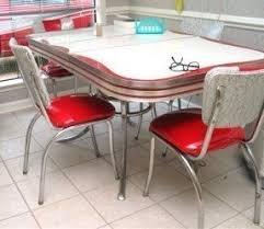 chrome dining room sets kitchen dinette sets foter