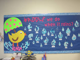 Preschool Bulletin Board Decorations April Shower Bulletin Board Bulletin Board Ideas Pinterest