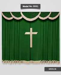 Church Curtains Church Chx1 Green Jpg