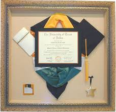 graduation shadow box cap and gown shadow box for my with all my college graduation stuff my