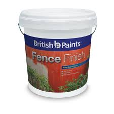 Spray Paint Bunnings - british paints fence finish 10l brown bunnings warehouse