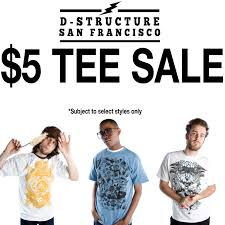 5 designer t shirt sale sf
