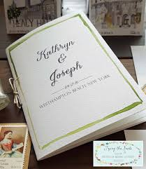 wedding program booklet wedding weekend booklet 4 to 8 page wedding program