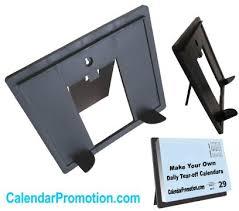 Desk Daily Calendar Daily Desk Calendar Easel Base Stands Easel Stands For Custom