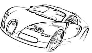 car bugatti veyron sport coloring bugatti