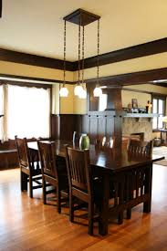 arts and crafts dining room table trends including mission oak
