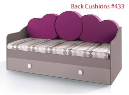 sofa bed storage italian kids trundle or storage sofa bed vv 1250