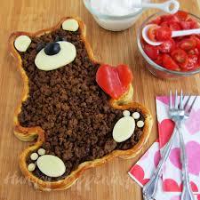 teddy bear taco tart valentine u0027s day dinner hungry happenings