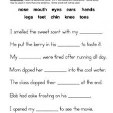 human body worksheets have fun teaching