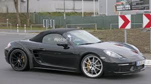 porsche boxster 2016 price looks like porsche is out u0027ring testing the 718 boxster gts