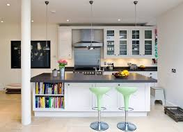 Open Kitchen Islands Kitchens Open Kitchen Island Shelves Offer A Smart Display For