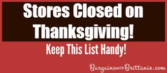 list of stores closed on thanksgiving 2014 simplistically living