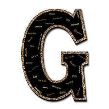monogram guest book signature letter g guest book sign letter 21 foam board party