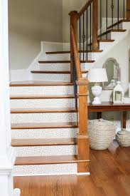Laminate Floors On Stairs How To Wallpaper Stairs Bower Power