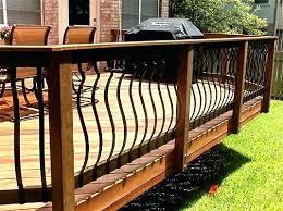 curved deck railing u2013 bowhuntingsupershow com