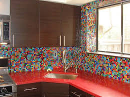 Best Home Backsplash Ideas Images On Pinterest Backsplash - Colorful backsplash tiles