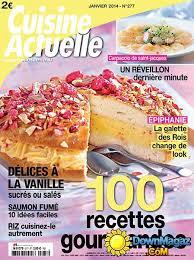 magazine cuisine actuelle cuisine actuelle janvier 2014 no 277 pdf magazines