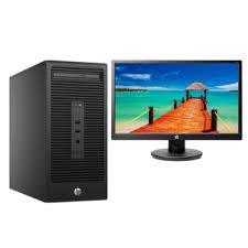 ordinateurs de bureau hp ordinateur de bureau hp 280 g2 écran 21 smarteo madagascar
