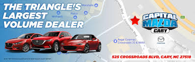 mazad car capital mazda of cary mazda dealership
