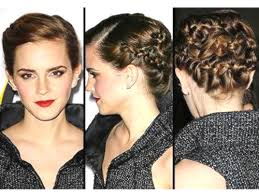 emma watson hairdos easy step by step summer hairstyle trend 2013 how to get emma watson s braided updo