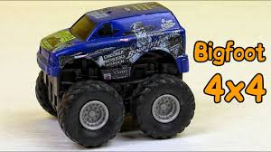 bigfoot the monster truck videos monster truck toy for kids bigfoot monster truck for children