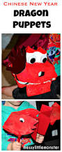dragon puppets messy little monster