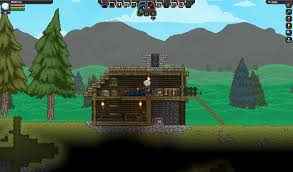 starbound houses my first house in starbound starbound
