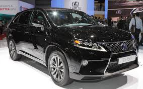 black lexus 2015 2012 geneva 2013 lexus rx 350 and rx 450h first look photo