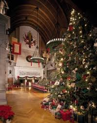 the dining room biltmore estate christmas trees south carolina and