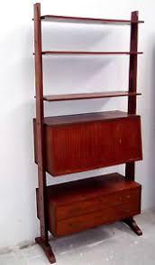 etagere legno eccezionale libreria etagere originale anni 50 stile albini