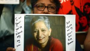 balbir s 38 photos 33 i who is my senior journalist gauri lankesh