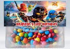personalised lego ninjago birthday card ebay