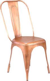 Copper Bistro Chair Xavier Copper Bistro Chair Event Design Decor Eclectic Hive