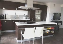 meuble cuisine wengé awesome cuisine wenge et blanc images design trends 2017