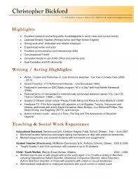exle of teaching resume cv format for a simple profit and loss template for self