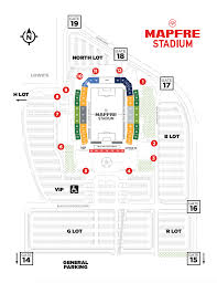 Mls Teams Map Mapfre Stadium Map Columbus Crew Sc