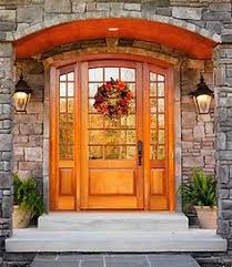 Exterior Doors Nj A Nj Homeowner Recently Replaced Their Faded Wood Doors With