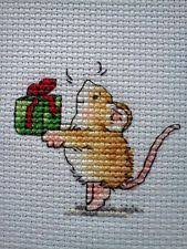 mouseloft stitchlet cross stitch kit with aperture