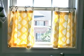 Half Window Curtains Kitchen Cool Yellow Cafe Curtains Half Curtains Beautiful