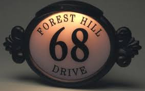 light up address sign illuminated address plaques all you need to know about the house new