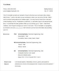 Resume Template For Professionals Basic Resume Template U2013 51 Free Samples Examples Format