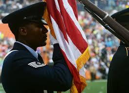 Color Guard Presentation Of The Flags Jbphh Observes Participates In 2014 Nfl Pro Bowl U003e Pacific Air