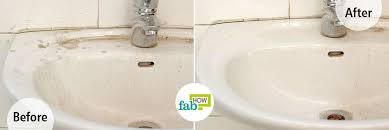 how do you clean a porcelain sink how to clean a white porcelain sink and restore its shine fab how