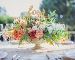 Table Centerpieces For A Wedding by Wedding Centerpieces Etsy